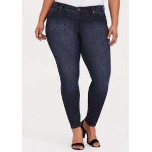 Torrid Classic Skinny Stretch Dark Wash Jeans 24